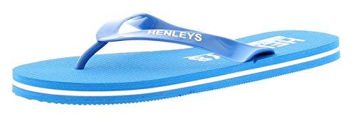 Hombre/hombre Henleys FLIP AZUL REAL / Blanco Chanclas - azul real / blanco - GB Tallas 6-12
