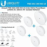 Ubiquiti  PowerBeam ac ISO 300 High-Performance airMAX ac 5GHz Bridge with RF Isolated Reflector (PBE-5AC-300-ISO-US-5) [5-Pack] by Ubiquiti Networks
