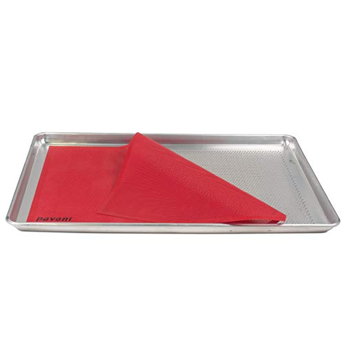 Pavoni Forosil Perforated Baking Mat - 23 x 15 inches