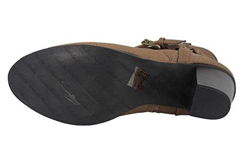 628ce421abc474 ... Andres Machado Sale Damen Stiefeletten - Braun Schuhe in Übergrößen