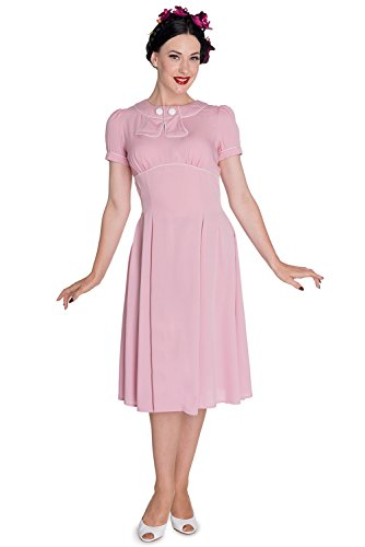 Hell-Bunny-60s-Vintage-Inspired-Jackie-First-Lady-Fancy-Pink-Dress