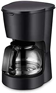 AMAZACER Single Serve K Cup Coffee Maker Brewer for K-Cup Pod & Ground Coffee Compact Design Thermal Drip Instant Coffee Machine with Self Cleaning Function Brew Strength Control Black