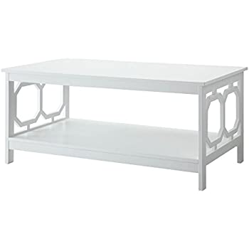 Etonnant Convenience Concepts Omega Coffee Table, White