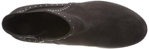 Para Comfort grey 39 Shoes Gris Botines Gabor micro Mujer Sport dark x1T4gqI