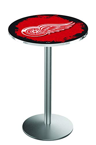 Detroit Red Wings Pub Table - Holland Bar Stool Co. Detroit Red Wings Pub Table
