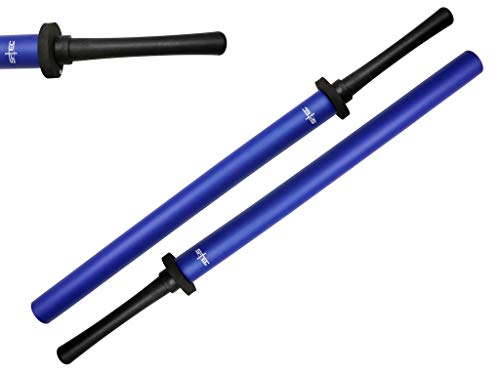 "S-TEC 35"" Practice Padded Foam Sparring Sword Set with ABS Handle and PVC Core. (Blue)"