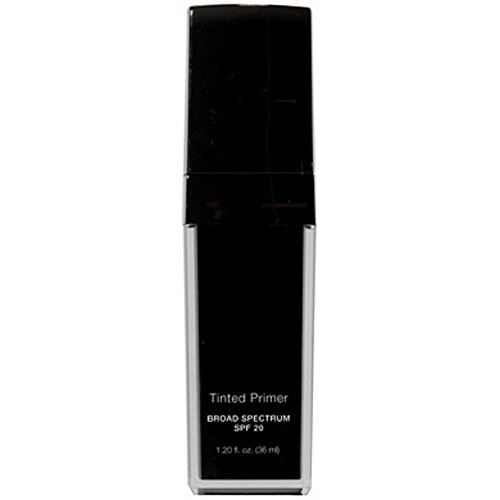 Tinted Face Primer Broad Spectrum SPF 20 – Demi-Matte Finish – Brightens Provides Anti Wrinkle Benefits – and Protects the Skin From Harm UV Rays – Leaving the Complexion Smooth Medium