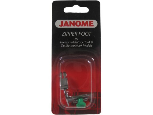 Janome Front-Load Narrow Base Zipper Foot
