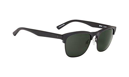 - Spy Loma Sunglasses-Matte Black/Black-Gray Green