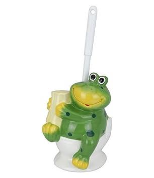 Zeitzone Bunte Toilettenbürste Wc Klobürste Porzellan Frosch Amazon