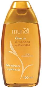 Óleo Corporal de Amêndoas com Baunilha 100ml, Muriel