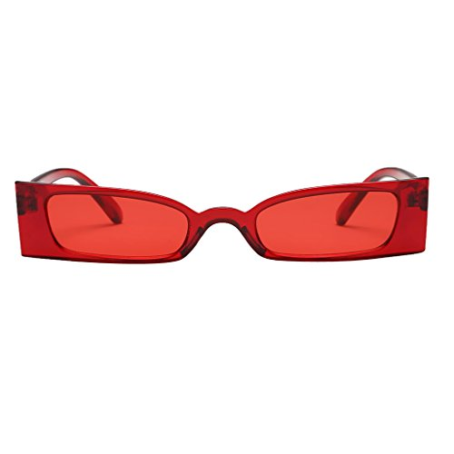 de Femme Soleil Protection Clair Lunettes Lunettes UV400 Sharplace Rouge Mode Ywg4BB
