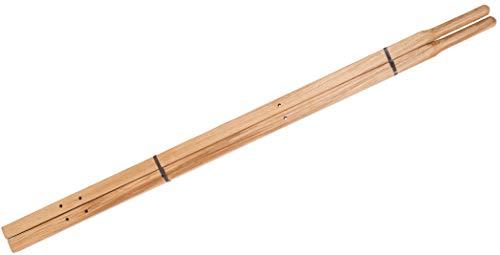 True Temper 00221400 Ames C Series Hardwood High Display Wheelbarrow Handle, 60