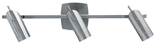 Access Lighting 52019-BSOdyssey 3-Light Ceiling/Wall Spotlight Rail, Brushed (Odyssey Vanity Lighting)