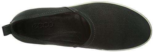 Ecco ECCO AIMEE - Zapatillas de casa de cuero mujer negro - Schwarz (BLACK 02001)