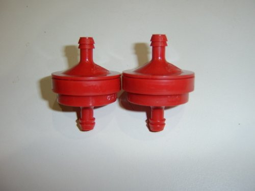 Package of 2, Replacement Fuel Filter for Briggs & Stratton