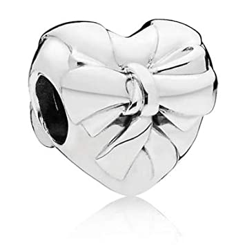 Calvas New 2018 New 100/% 925 Sterling Silver Charm Bead Piercing Snail Heart Crystal Fit European Women DIY Bracelet Factory Color: 3