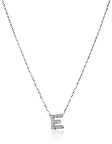 Diamond Initial Pendant Necklace (Roberto Coin