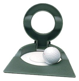 Adjustable Putting Cup with Two Target Sizes