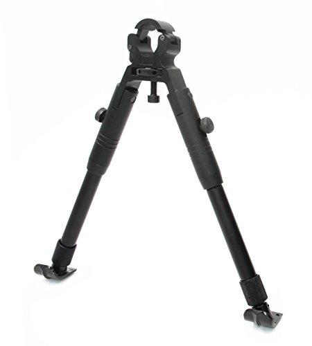 JINSE Tactical Rifle Barrel Bipod Dragon Claw Clamp-on Folding Steel Feet Height (Bipod Barrel)