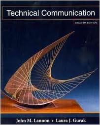 Technical communication john lannon.