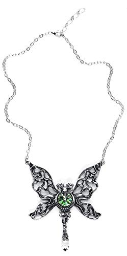 Alchemy Gothic Le Fantome Vert Necklace Standard