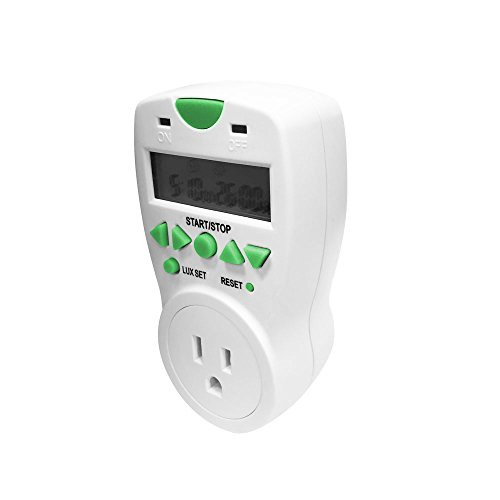 AgroMax 10-Second to 99-Hour Digital Short Cycle Timer ()