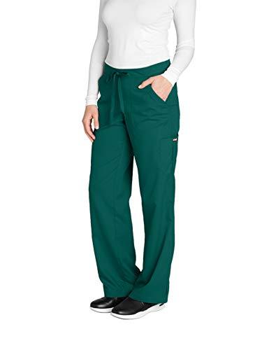 Grey's Anatomy 4245 Cargo Pant Hunter Green M ()