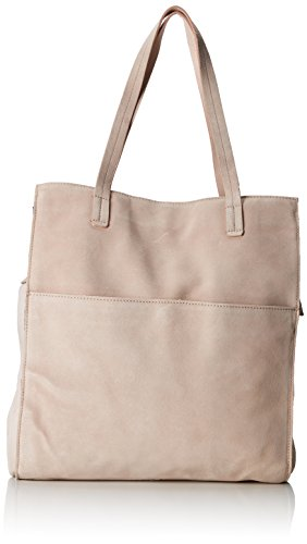 PIECES Damen Pcgwen Suede Shopper Schultertasche, 5x35x55 cm Pink (Rose Dust)