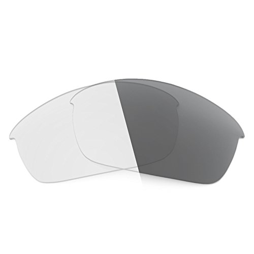 Revant Replacement Lenses for Oakley Flak Jacket Elite Adapt Grey - Flak Photochromic Lenses Jacket