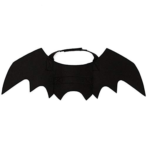 Autumn Water Hoomall Funny Cats Costume Wings Halloween Pet Cats Cosplay Bat Wings Costume Fit Party Creative Dogs Cats Playing Pet Supplies
