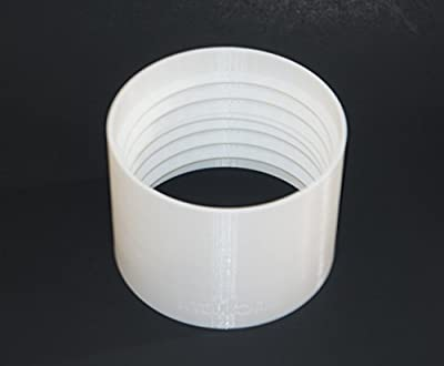 Portable A/C AC Air Conditioner Exhaust Hose Coupler (For 6-inch tubes)