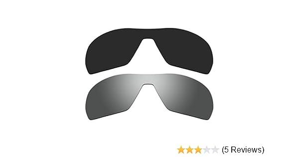 648c6001e2b Amazon.com  ACOMPATIBLE Replacement Polarized Black Titanium Lenses Oakley  Offshoot Sunglasses  Sports   Outdoors