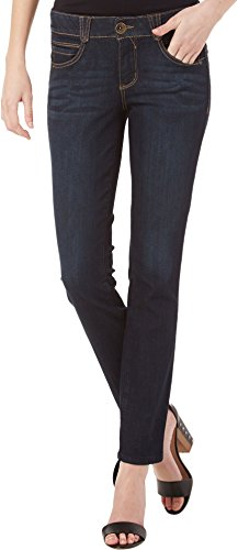 "Democracy Women's 31 x 12 Inch ""Ab""solution Blue Jegging, Indigo, 12"