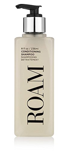 William Roam Conditioning Shampoo - Cruelty-free, Vegan, American-made - Gentle Cleanser and Conditioner, Perfect for Women and Men, All Hair Types, 8oz