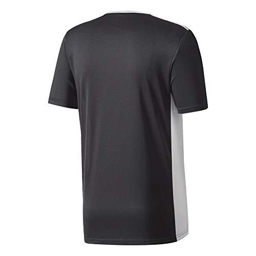 Nero Adidas T black Entrada shirt 18 Uomo white OwUpqaw