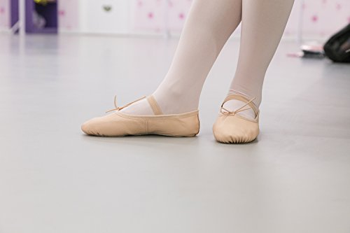 gimn 1102 Ballett Ballet Cuero DANCE de Zapatos Zapatos de Gimnasia Zapatillas de Zapatos YOU DANCEYOU A6w6Sq4