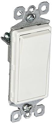 Pass & Seymour TM870STMWCC6 Garbage Disposal Switch, 15-Amp, White