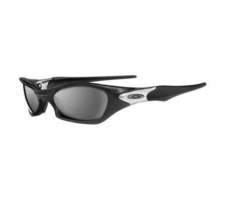 Oakley Men's Valve Polarized Rectangular Sunglasses, Black, 60.8 mm (Oakley Uv Protection Sunglasses)
