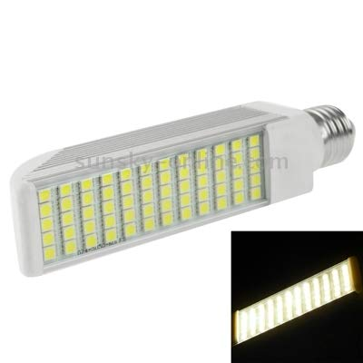 Lamp E27 14W 1150LM LED Transverse Light Bulb, 60 LED SMD 5050, White Light, AC 85V-265V Warm and Durable (Color : Color2)