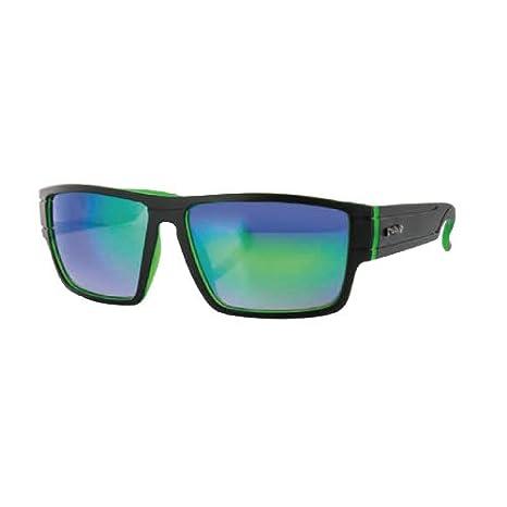 Carve Sublime Occhiali da sole, unisex, Sublime, Matte Black/Green/Green Revo, Taglia unica