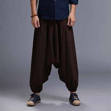 Generic Men Yoga Loose Drop Pants (XL f91dfce3abc