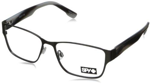 Spy Jett Rectangular Eyeglasses,Gunmetal & Greystone,54 - Spy Frames Glasses