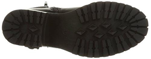 Dockers by Gerli 37CE202 - Bota de media caña de material sintético mujer negro - negro