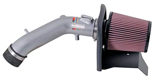 K&N Cold Air Intake Kit with Washable Air Filter:  2004-2007 Honda Accord, 2.4L L4,  Polished Metal Finish with Red Oiled Filter, 69-1209TS (Pros And Cons Of Cold Air Intake Systems)