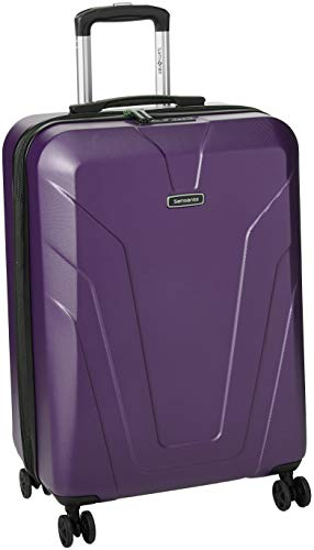 Samsonite Frontier Spinner Ladies Medium Purple Polycarbonate Luggage Bag TSA Approved Q12050002