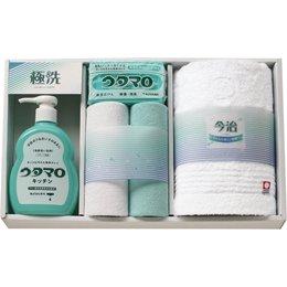 【まとめ 5セット】 ウタマロ 石鹸キッチン洗剤ギフト UTA-200 C7291575 C8286069 C9287536 B07KNTJ929