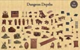 Dungeon Depths - Terrain Crate - MANTIC Games