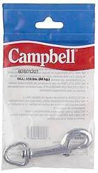 Campbell T7605821 1'' Swivel Round Eye Snaps