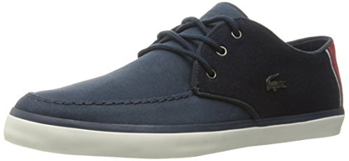 Lacoste Men's Sevrin 416 2 Cam Fashion Sneaker, Navy, 9 M US